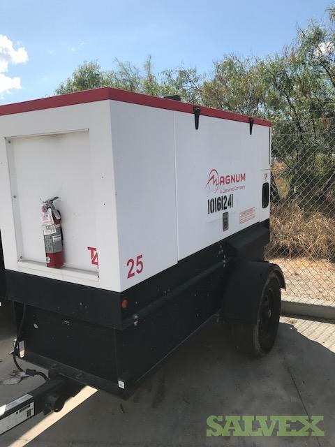 Magnum 25KW Trailer Mounted Diesel Generator