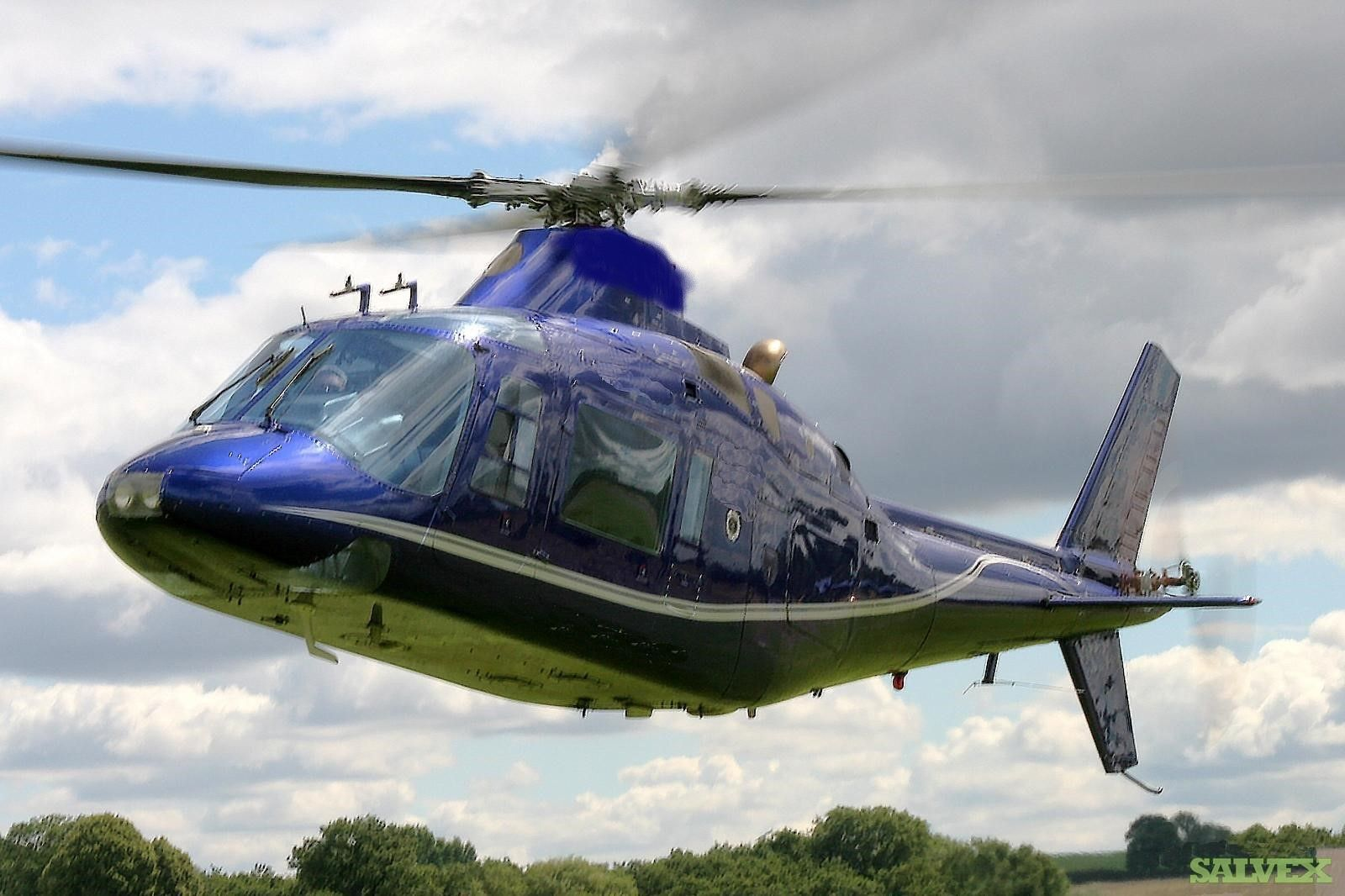Agusta A109A Helicopter Fuselage (1 Unit)