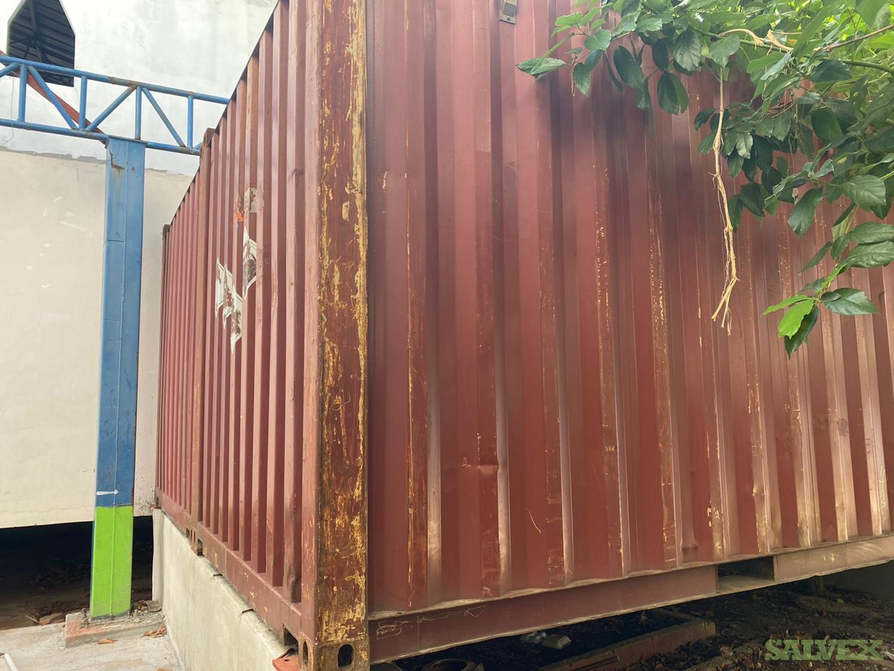 20 ft Shipping Container (1 unit)