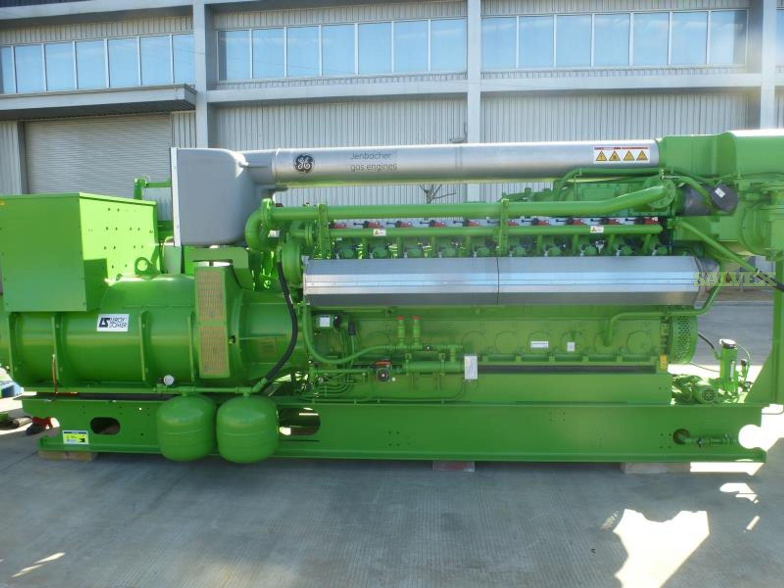 GE Jenbacher Gas Generators for Drilling Rig Power Supply(7  Generators)