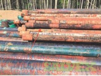 2 7/8 4.50# J55 EUE R2 Surplus Tubing (3,524 Feet / 7 Metric Tons)