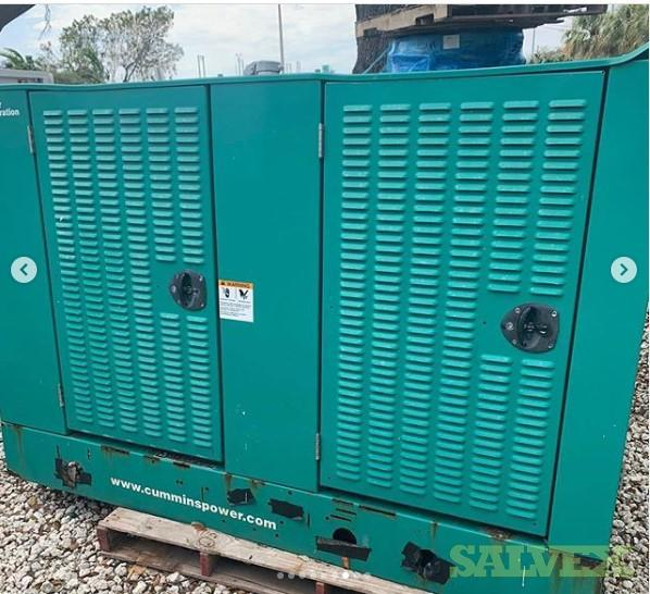 Cummins Natural Gas Generator 47 KW / GGFE - 885095 in Southern Florida