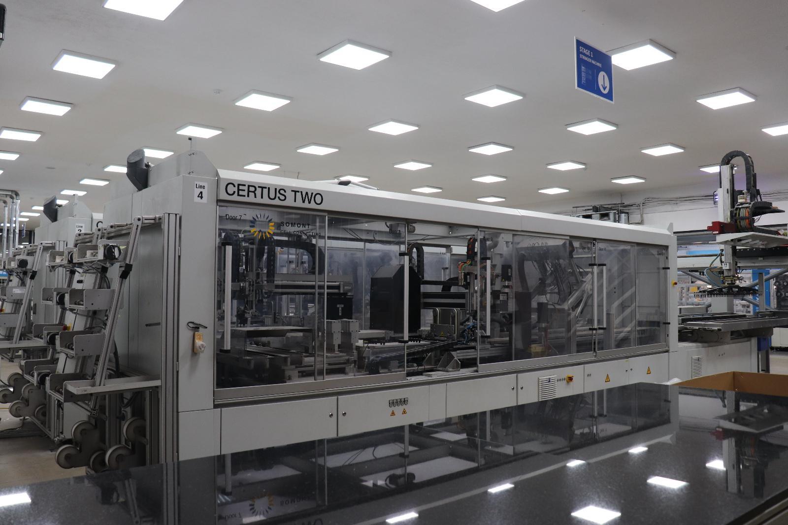 Stringer Certus 4BB 5BB Solar Machine