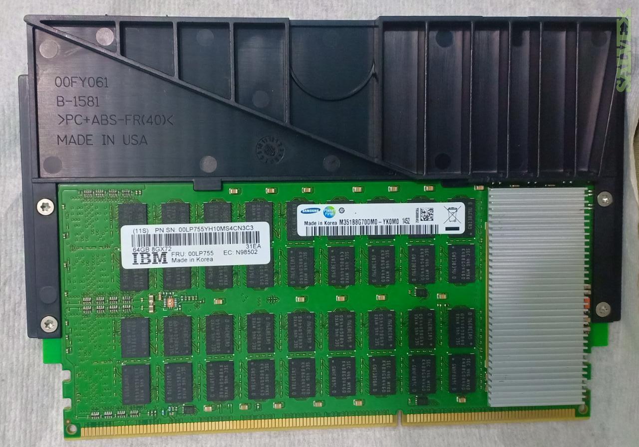 IBM RAM Memory - for Servers // 8G72X / 64 GB / DIMM DDR3 (11 Units)