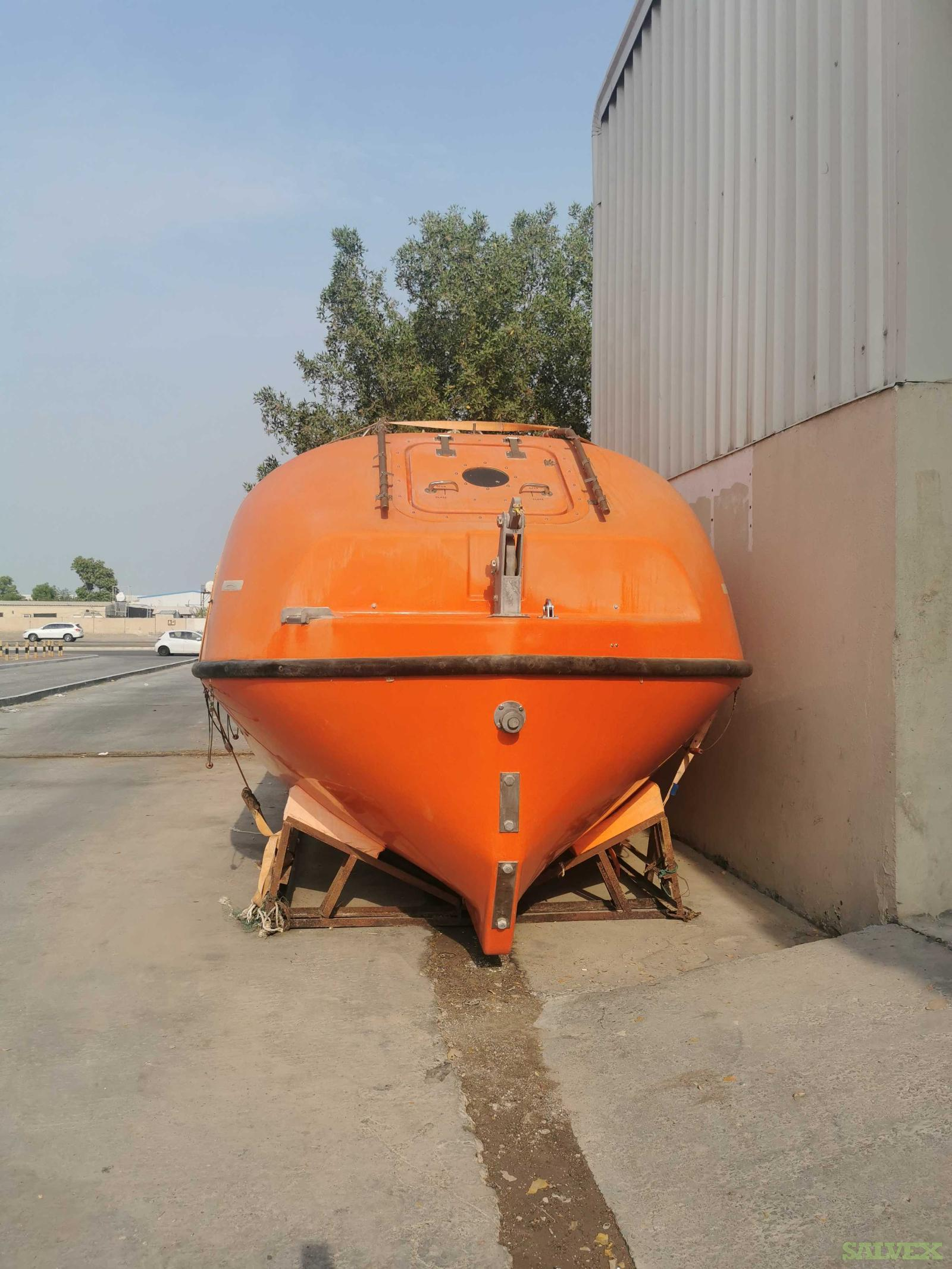 NOREQ LBT 750 T 50 Passenger Lifeboat 2009- Unused(1 Lifeboat)