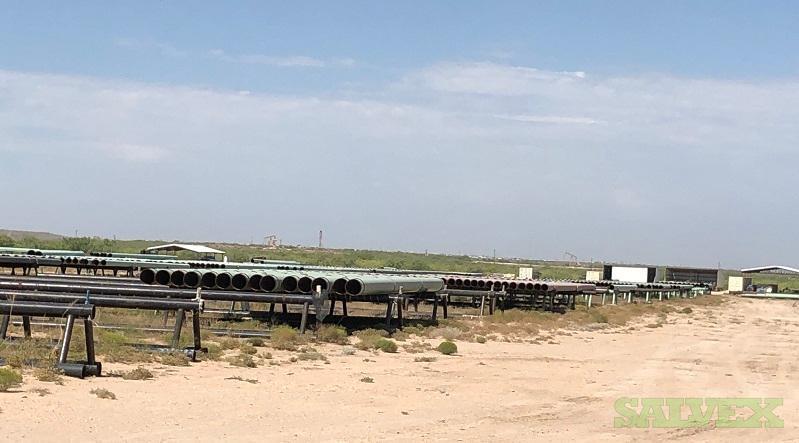 4 - 8 Surplus Line Pipe (1,954 Feet / 16 Metric Tons)