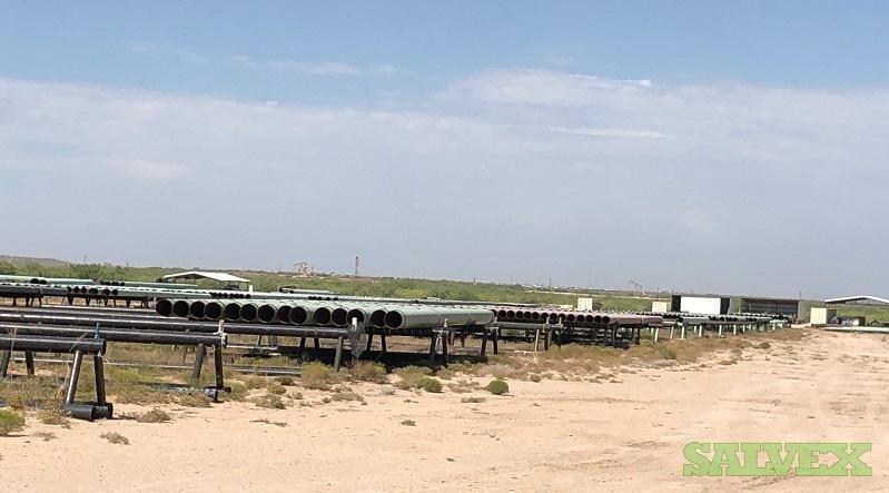 12 .250WT X52 FBE Surplus Line Pipe (2,940 Feet / 45 Metric Tons)