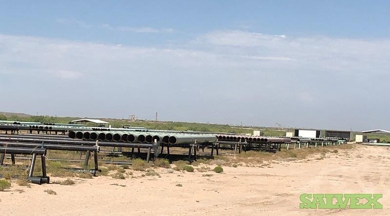 12 .312WT X52 ARO Surplus Line Pipe (3,486 Feet / 62 Metric Tons)