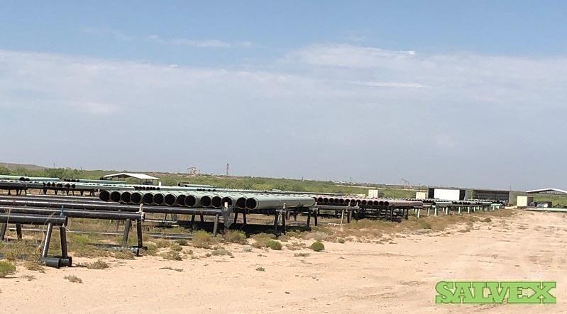 24 125.61# .500WT X70 FBE Surplus Line Pipe (84 Feet / 5 Metric Tons)