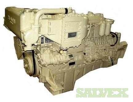 MAN Diesel Engine D2866LXE40 with ZF Gearbox (2 Units)