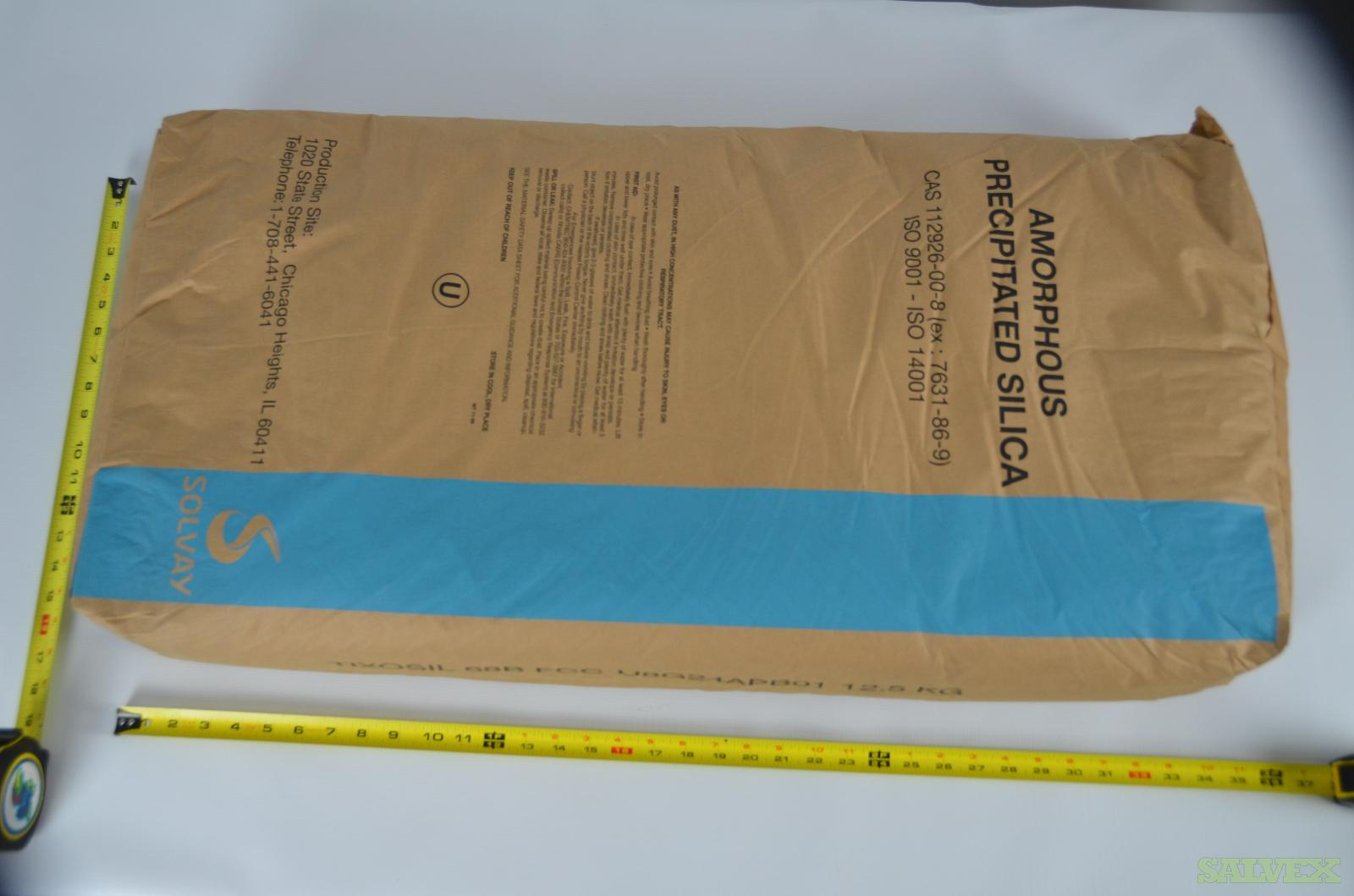Solvay TixoSil 68B FCC Silica - For Use in Food-Grade Applications (35,000 Lbs / 4-5 Truckloads)