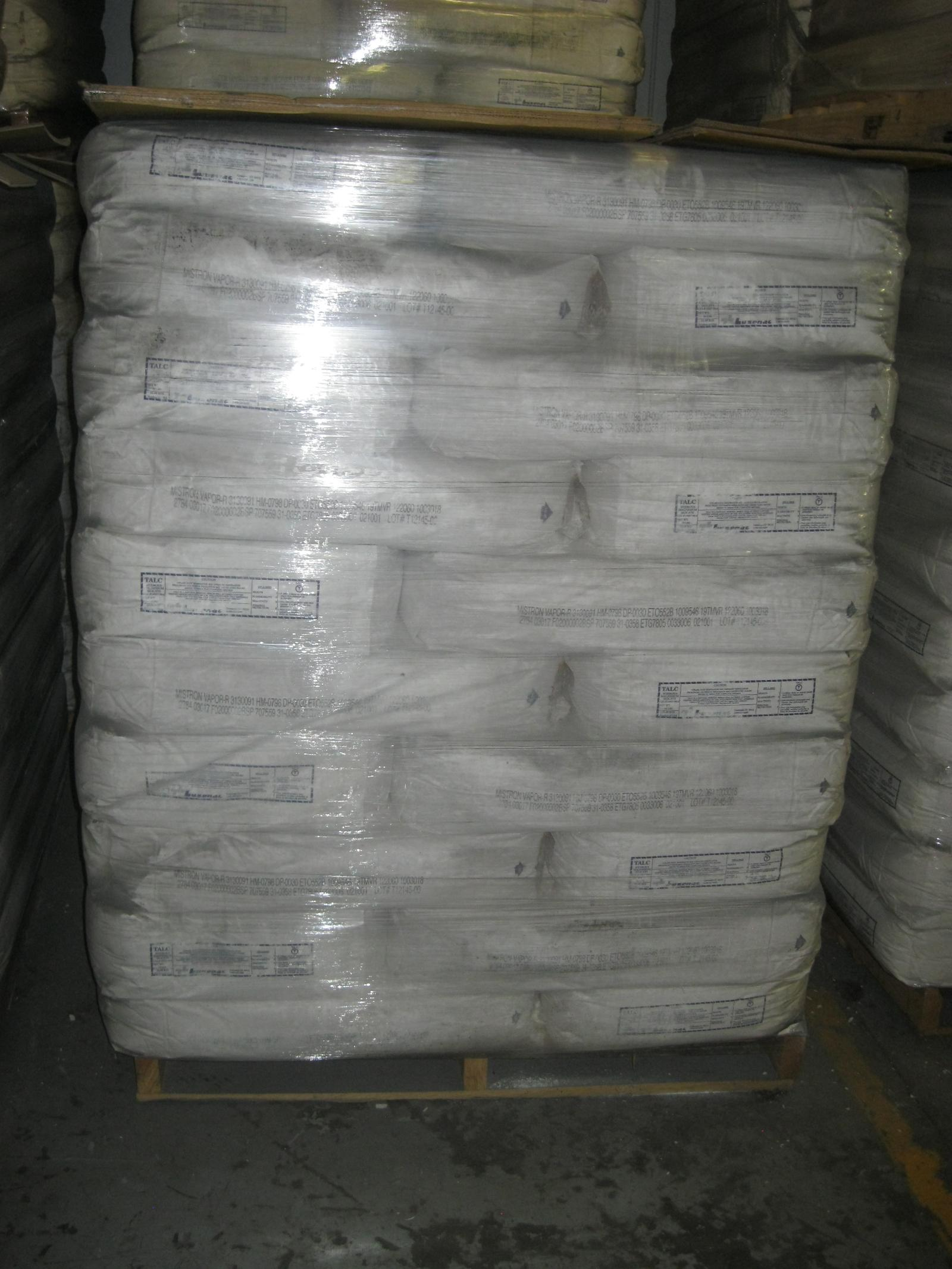 Rubber Industry: Omega Blue/Phthalo Blue Pigments; Mistron Vapor R Talc; 2244 Bromobutyl Rubber and SP 1068 Resin (18,700 Lbs)