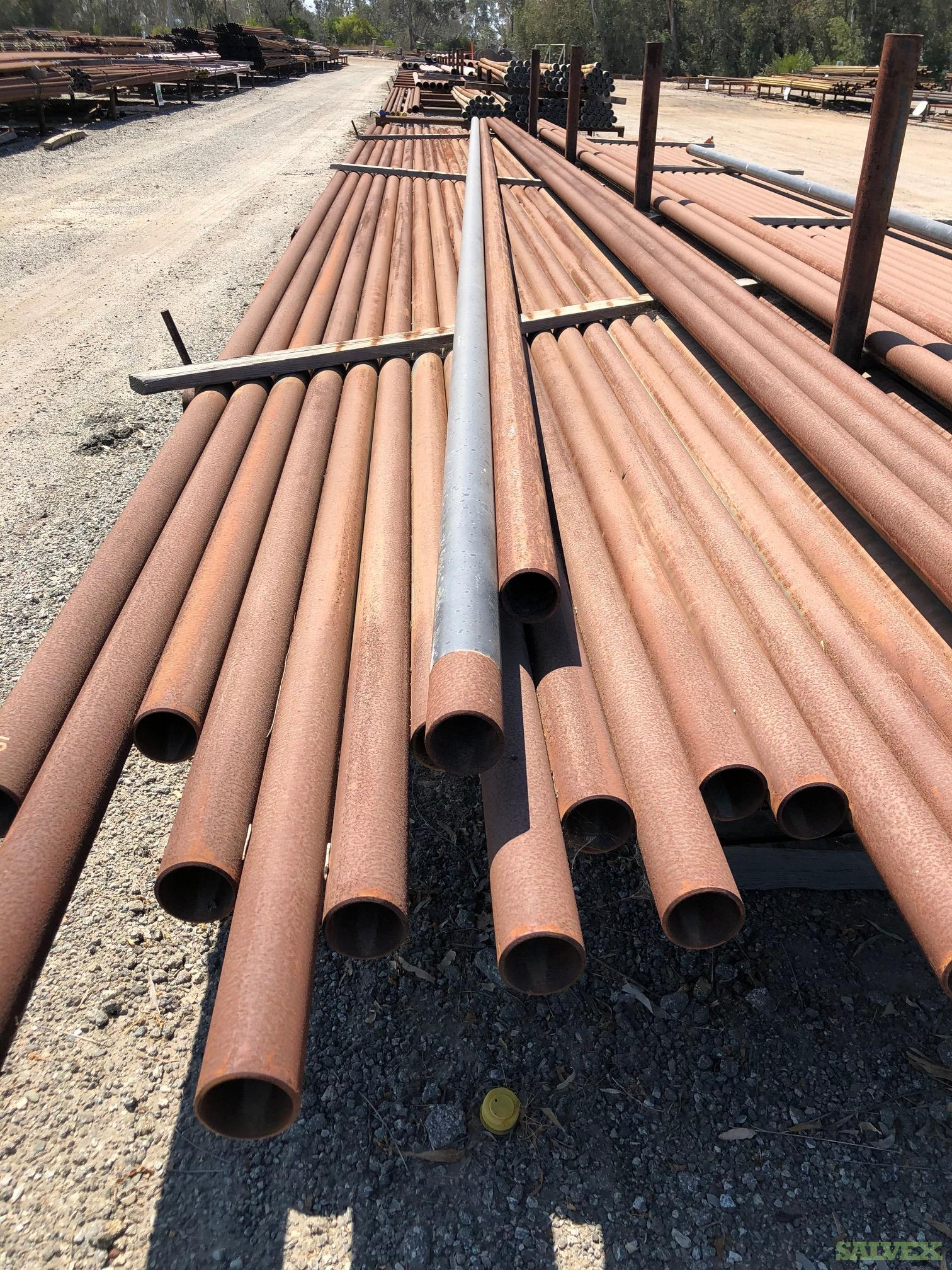 2 3/8- 8 5/8 Surplus Line Pipe & Tubing (120 MT / 1,000 Joints)