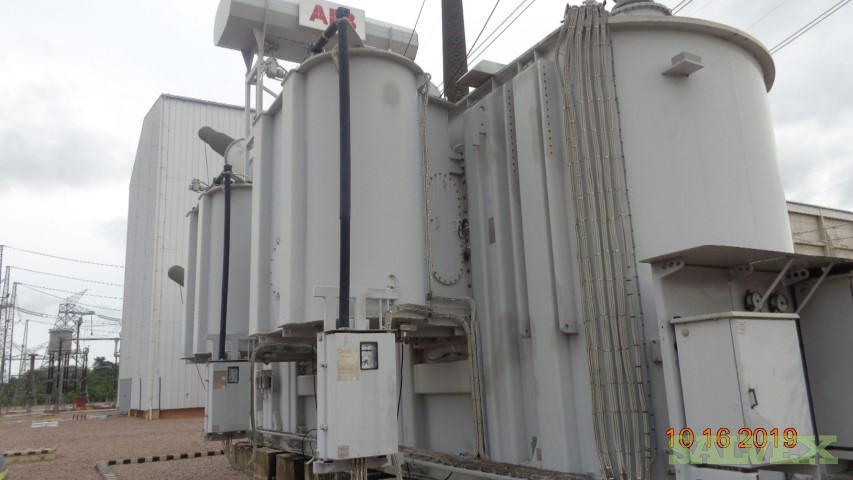 Transformer, Damaged (1 Transformer: 80 Tons Copper / 189,000 Liters Insulating Oil)