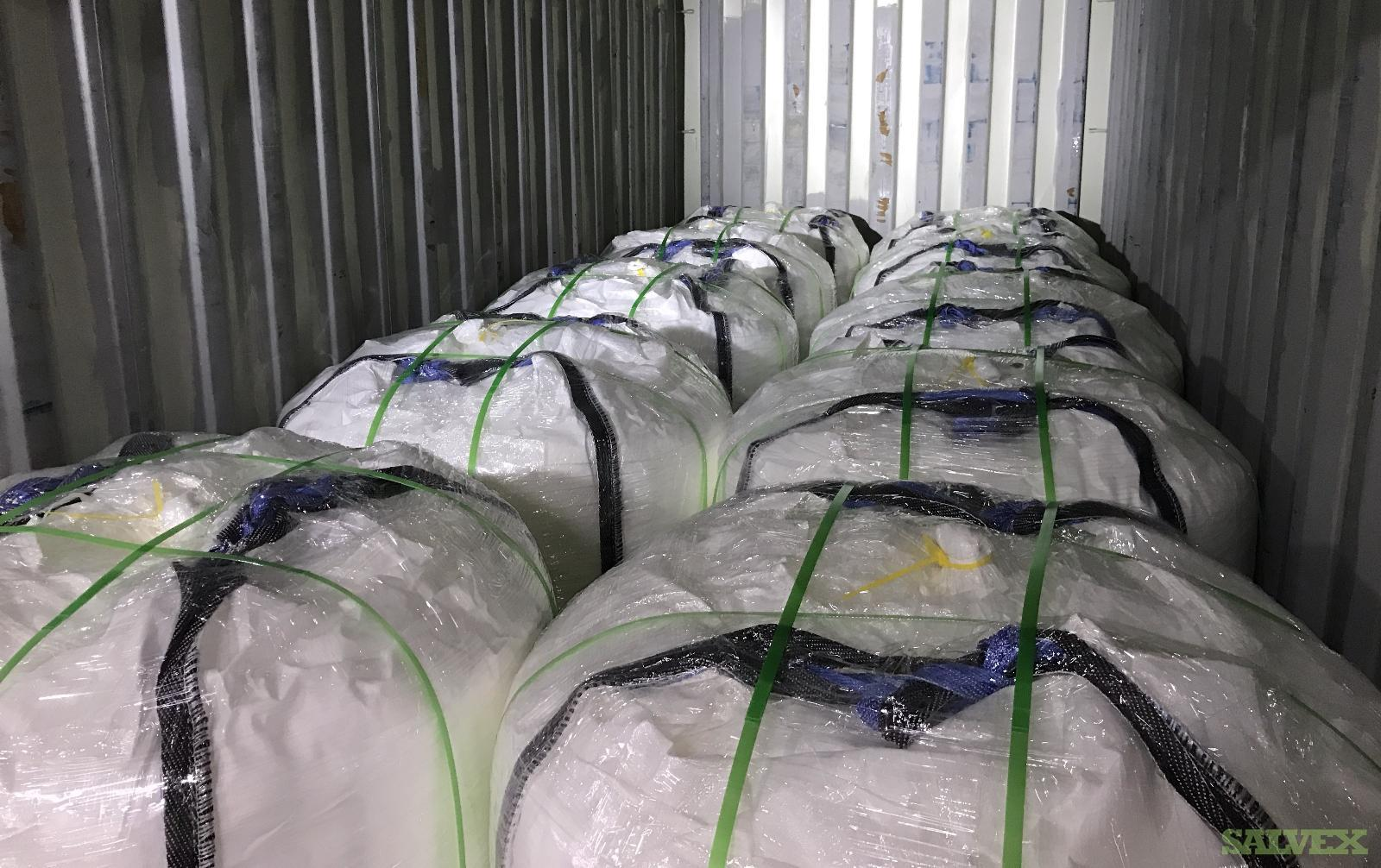 USP Sodium Chloride and Acesulfame Potassium - Used in Carbonated Drink Raw Materials (65,924 Kgs)