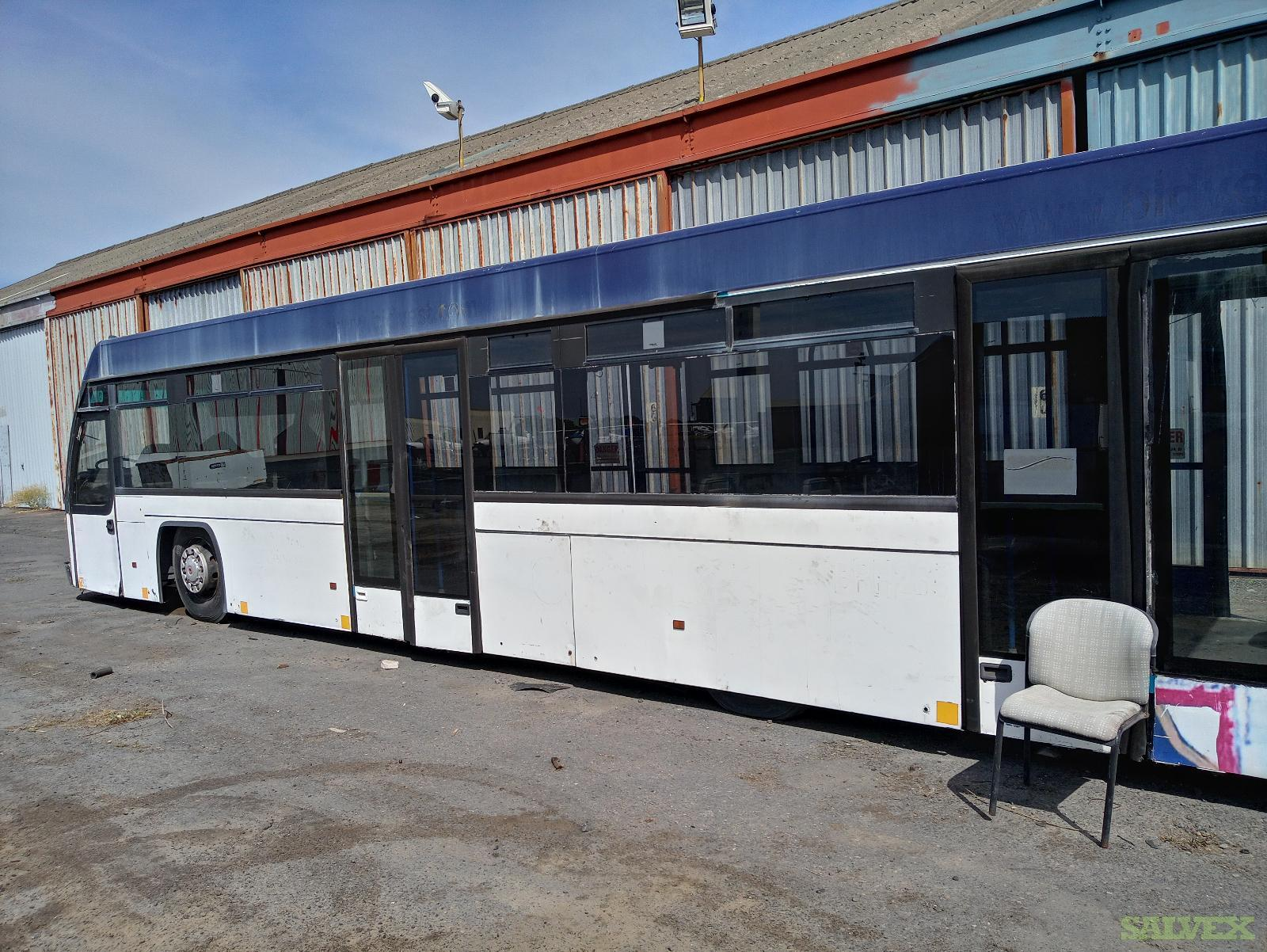 Airport Buses / 2700 Model (4 Units) - Parted and Stripped / Sold As Scrap