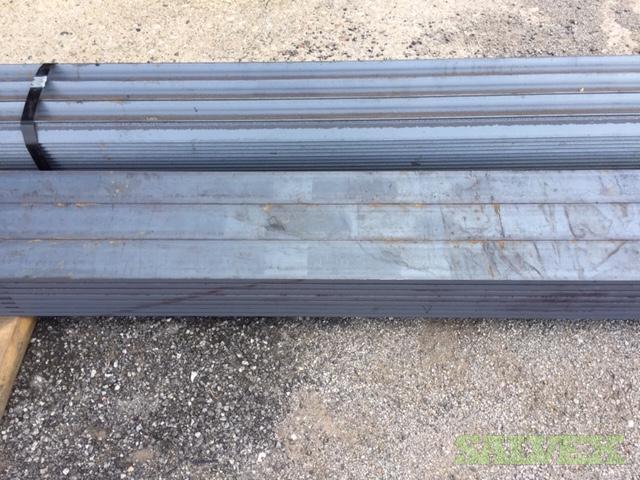 Gerdau Flat Bar 3/8 x 3, 3/8 x 4, 3/4x4, 1x4, 1/4x4 and Angles 2x2x3/16 (324 Pieces / 29,268 Lbs)