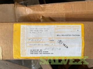 Tail Rotor Blades PN:206-010-750-109 - For Bell Helicopters (2 Units)