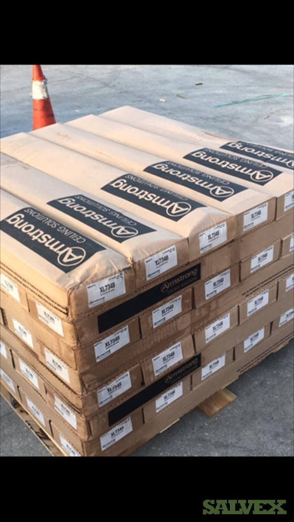 Armstrong Suspension Systems : 12ft ID Main Beam, 4ft Cross Tee, 2' Cross Tee, 4ft Drywall Cross Tee  (246 Cartons) in Southern Florida