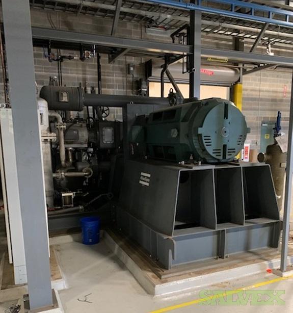 Atlas Copco High Pressure Air Compressors (2 Units)