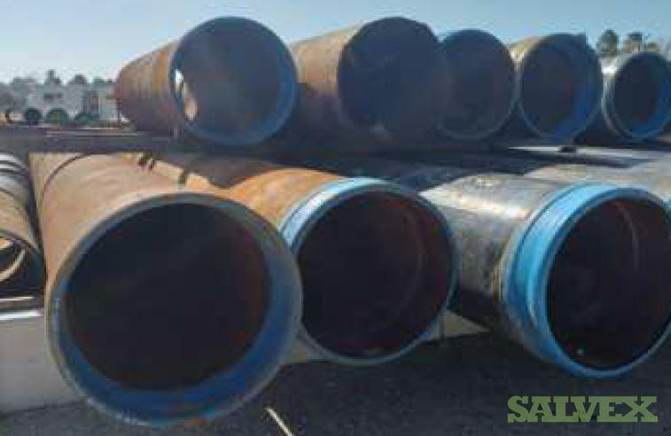 30 1WT X52 Surplus Line Pipe (460 Feet / 65 Metric Tons)
