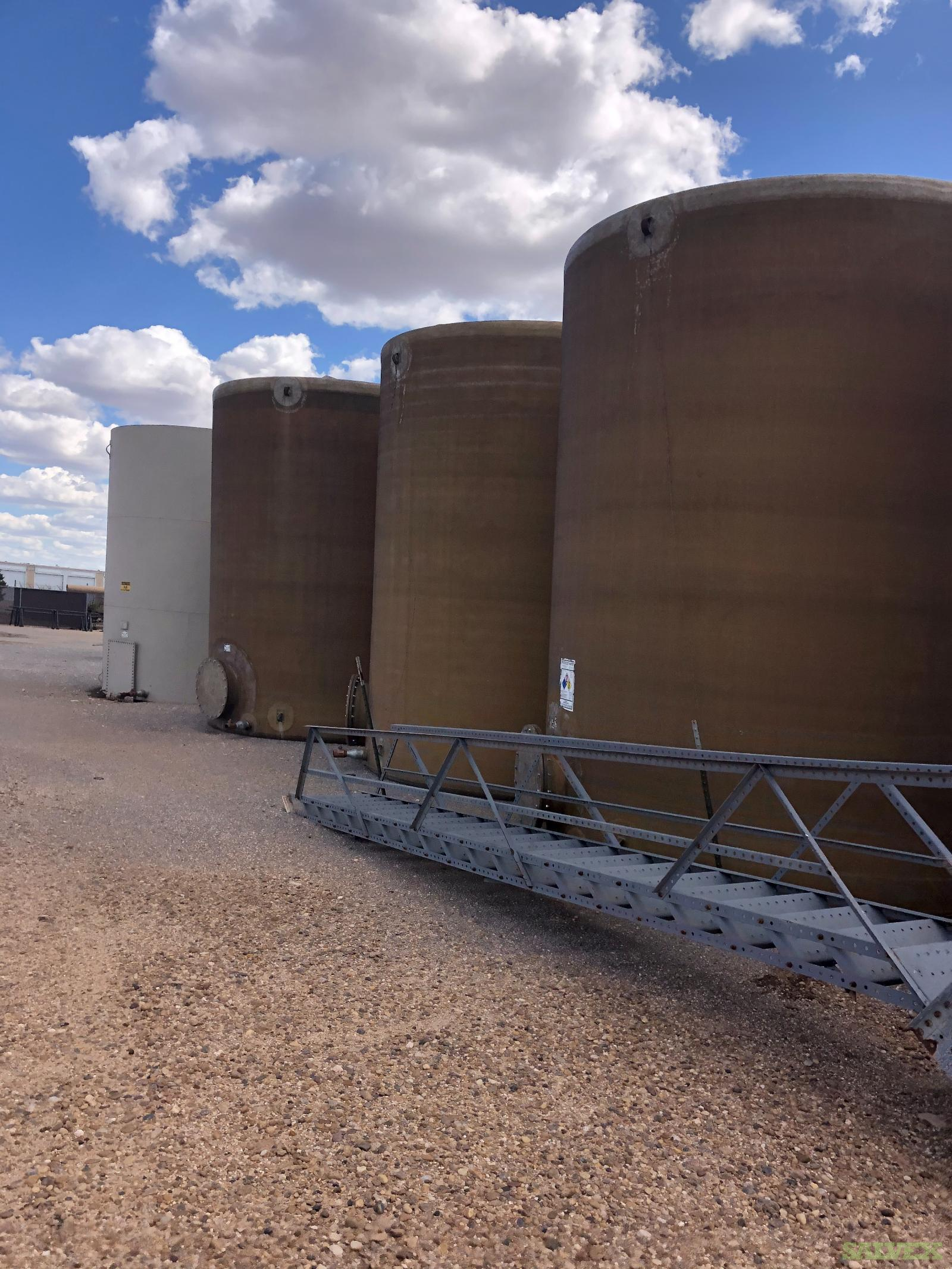 12'x15' 300 BBL Fiberglass Water Tanks (10 Units)