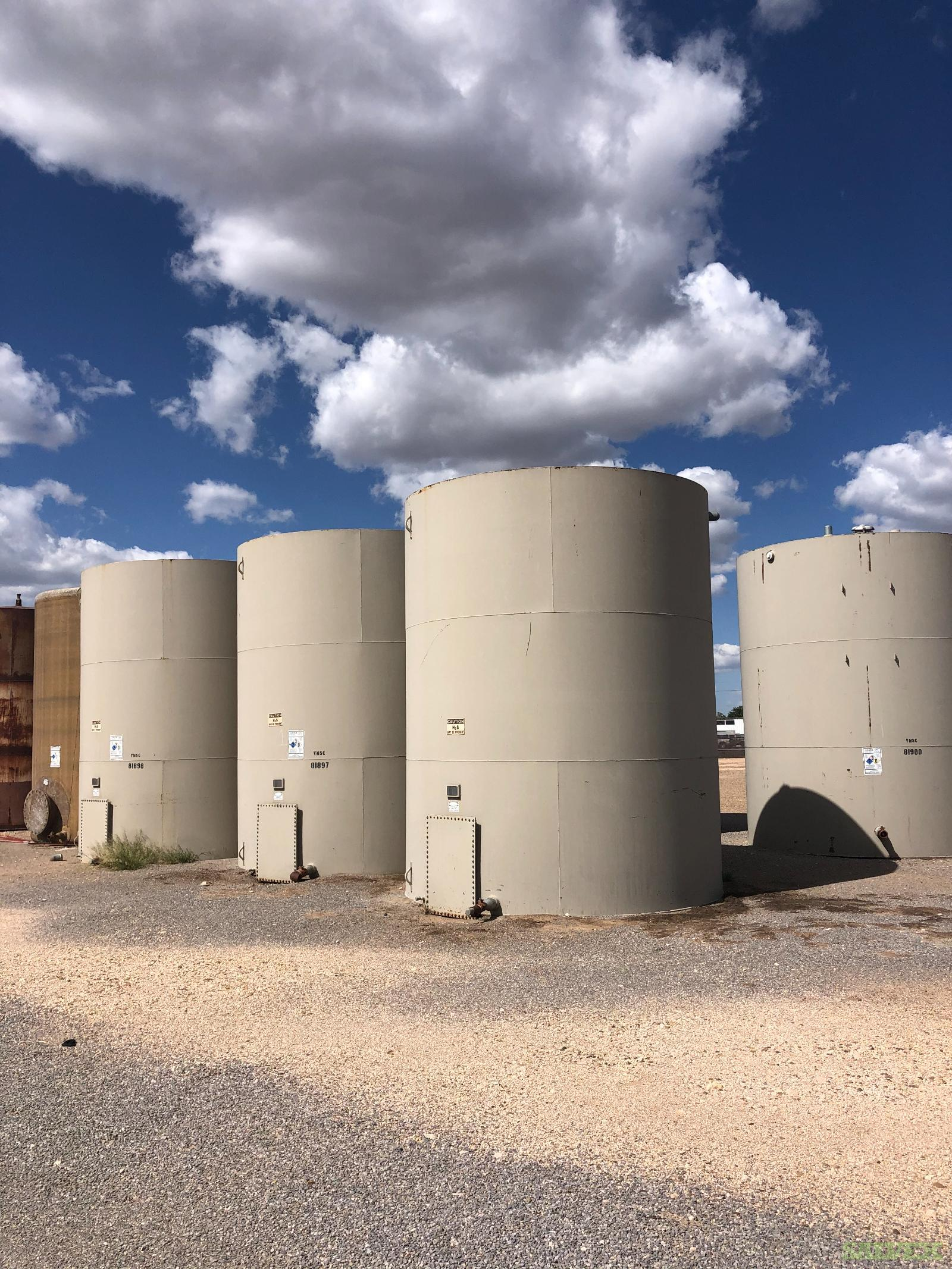 12'x15' 300 BBL Steel Tanks (7 Units)