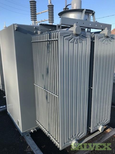 2000/2300 KVA 3 Phase Unit Substation Transformer ABB 2019- 2 Units