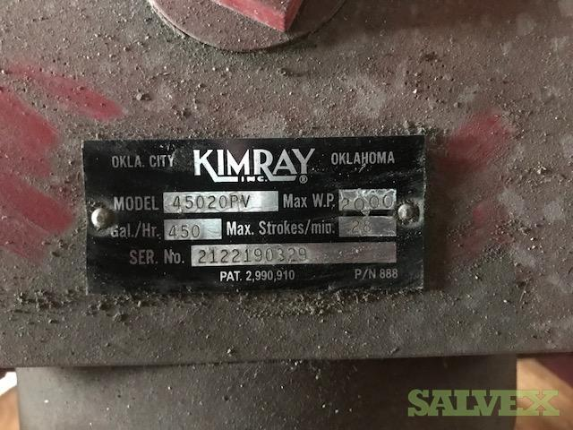 Pump Kimray Model 45020PV