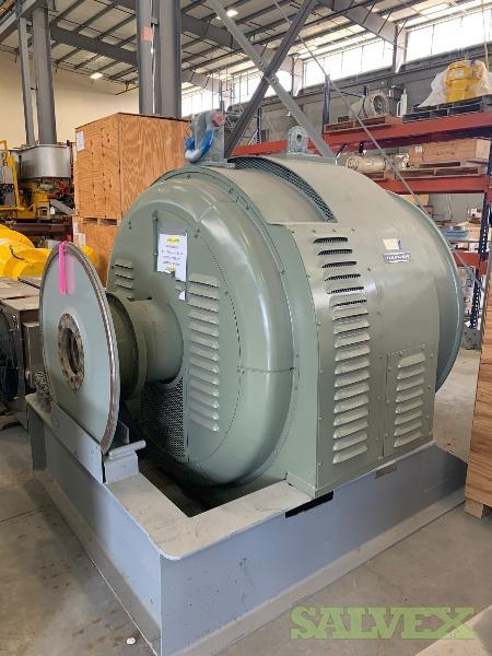 Baylor Electrical Generator, AC, 0.8 PF Rating, 2190 KW, Wattage Rating (1 Unit)