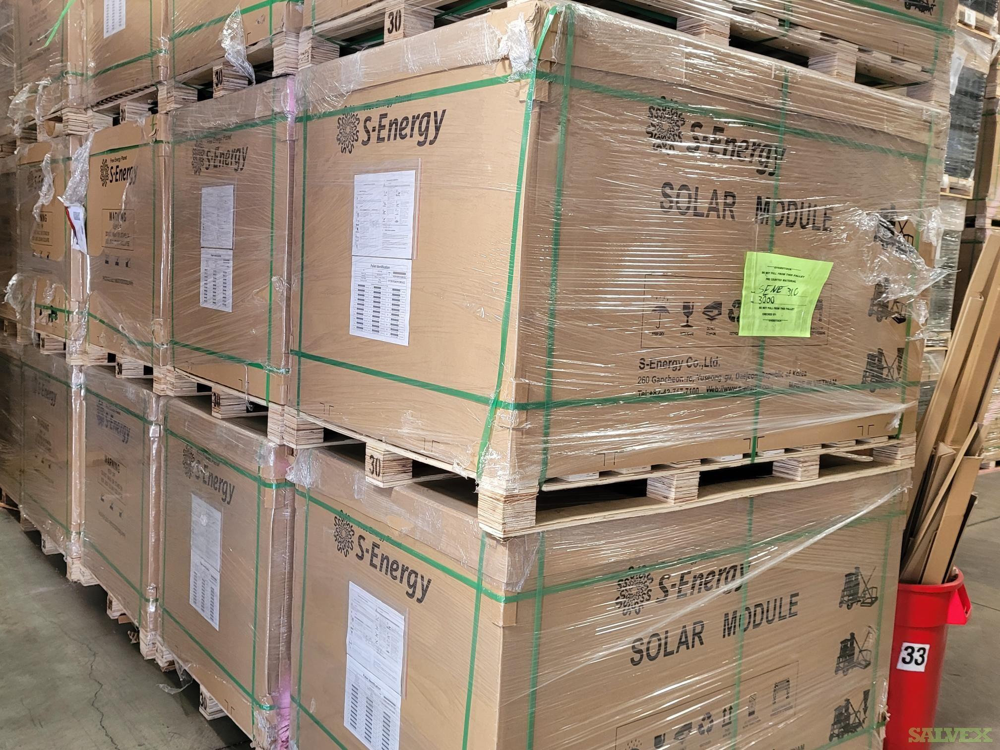 S-Energy 310W Solar Panels (5 MW)