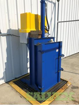 Vestil Electric Hydraulic Drum Crusher/Compactor / 230V