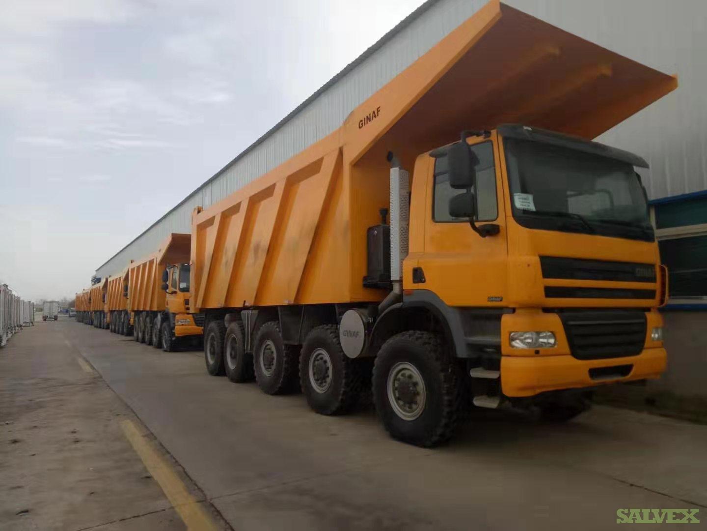 GINAF HD5380T 80-Ton Heavy Duty Mining Trucks 2013 (55 Units, Unused)