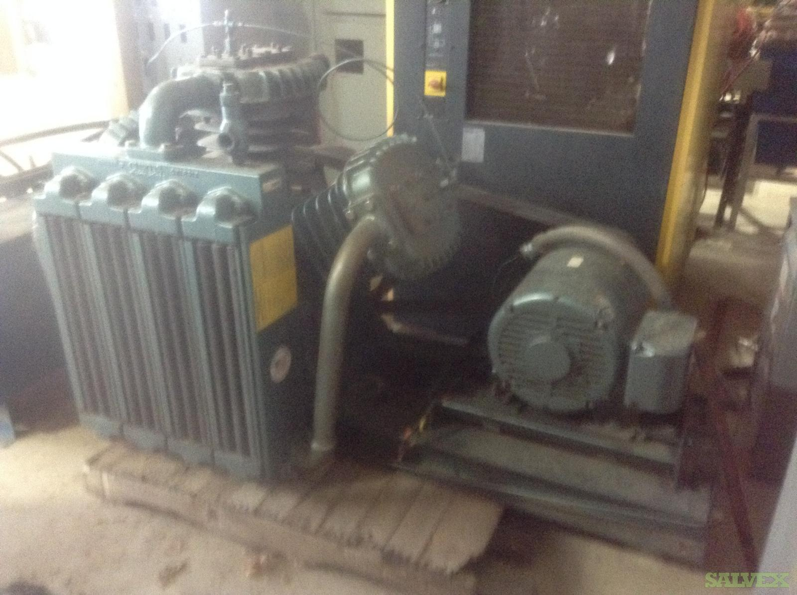 Curtis Natural Gas Two Stage Compressor (Booster station)