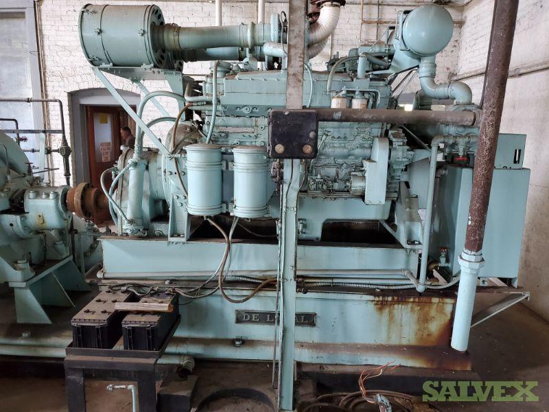 De Laval Water Works Pump Station (1 Unit // 6,000 Gallons Per Minute)