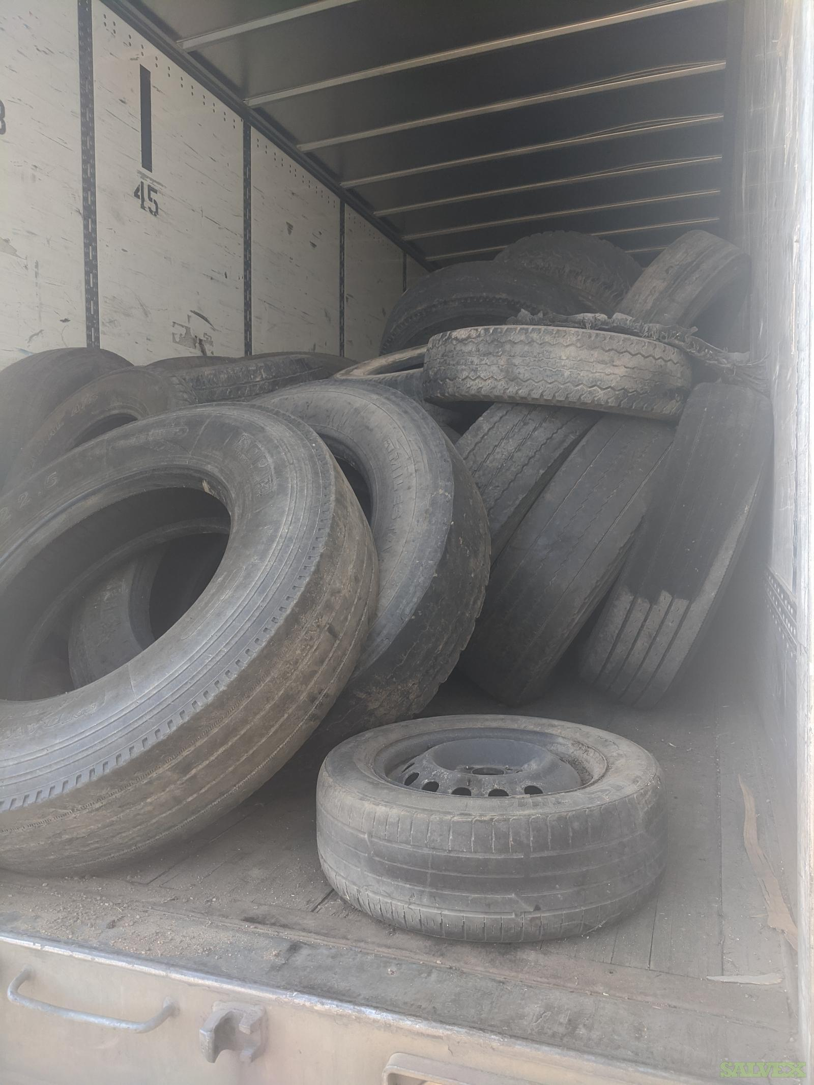 Truck Tires, Used (1 Truckload Approximately)