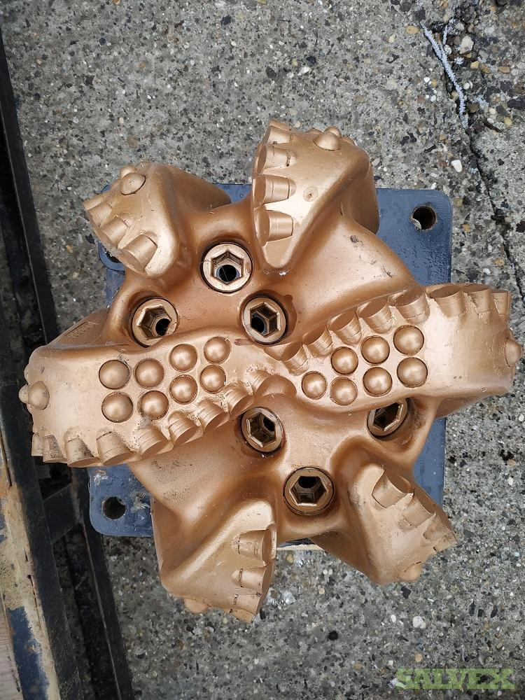 PDC Drill Bits Various Sizes 6 to 22 Drill Bits Reed & NOV (13 Bits)