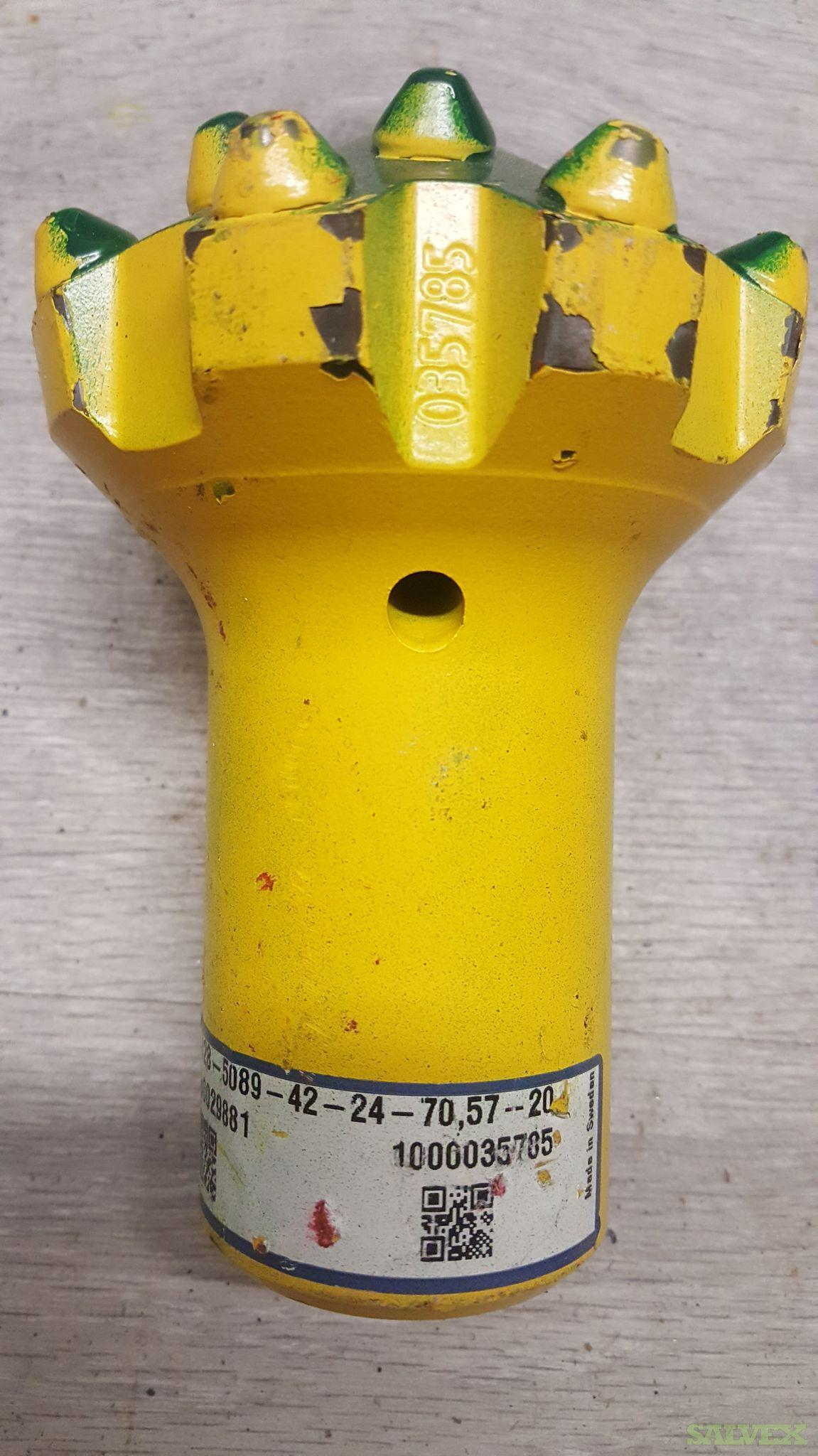 Button Bits Hard Rock Drilling in Ontario, Canada (169 Units)