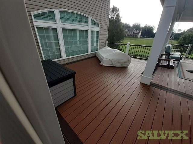 Trex Transcend Composite Decking - Tiki Torch in Northeast of Baltimore, Maryland (Over 900 sf)