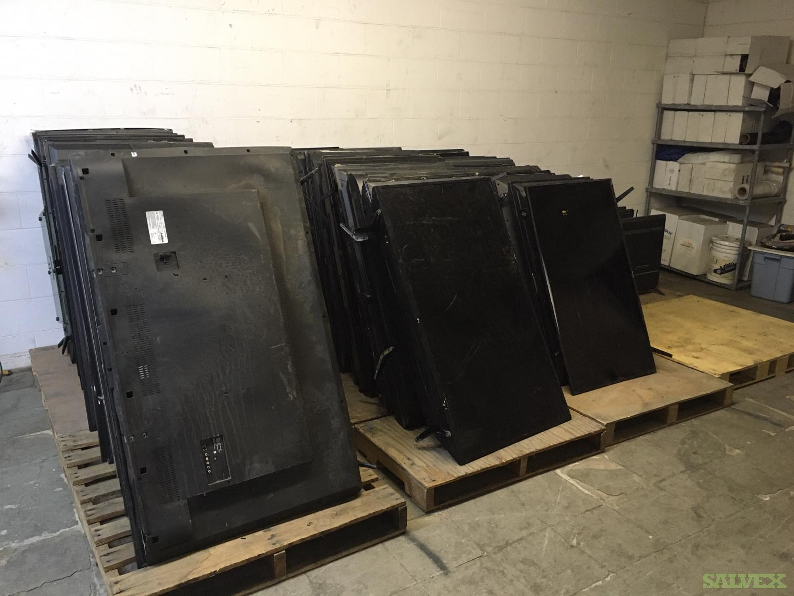 Salvage TVs : Various Brands and Models (328 / TVs) in Los Angeles Area, California