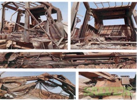 Damaged Hydraulic Crawler Drill Rig - ROC F9 - Insurance Claim(1 Rig)