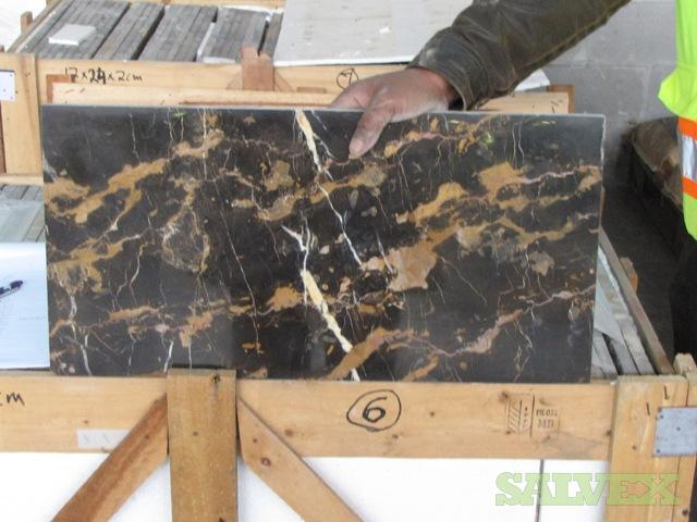 New Marble Tiles (20 Crates / 40,000 Lbs)