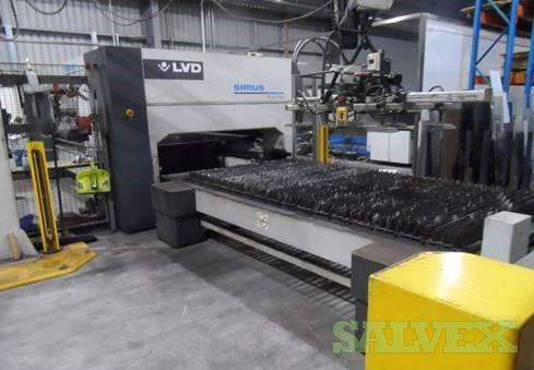 2013 LVD Sirius Plus 3015 Industrial Laser Cutting Machine
