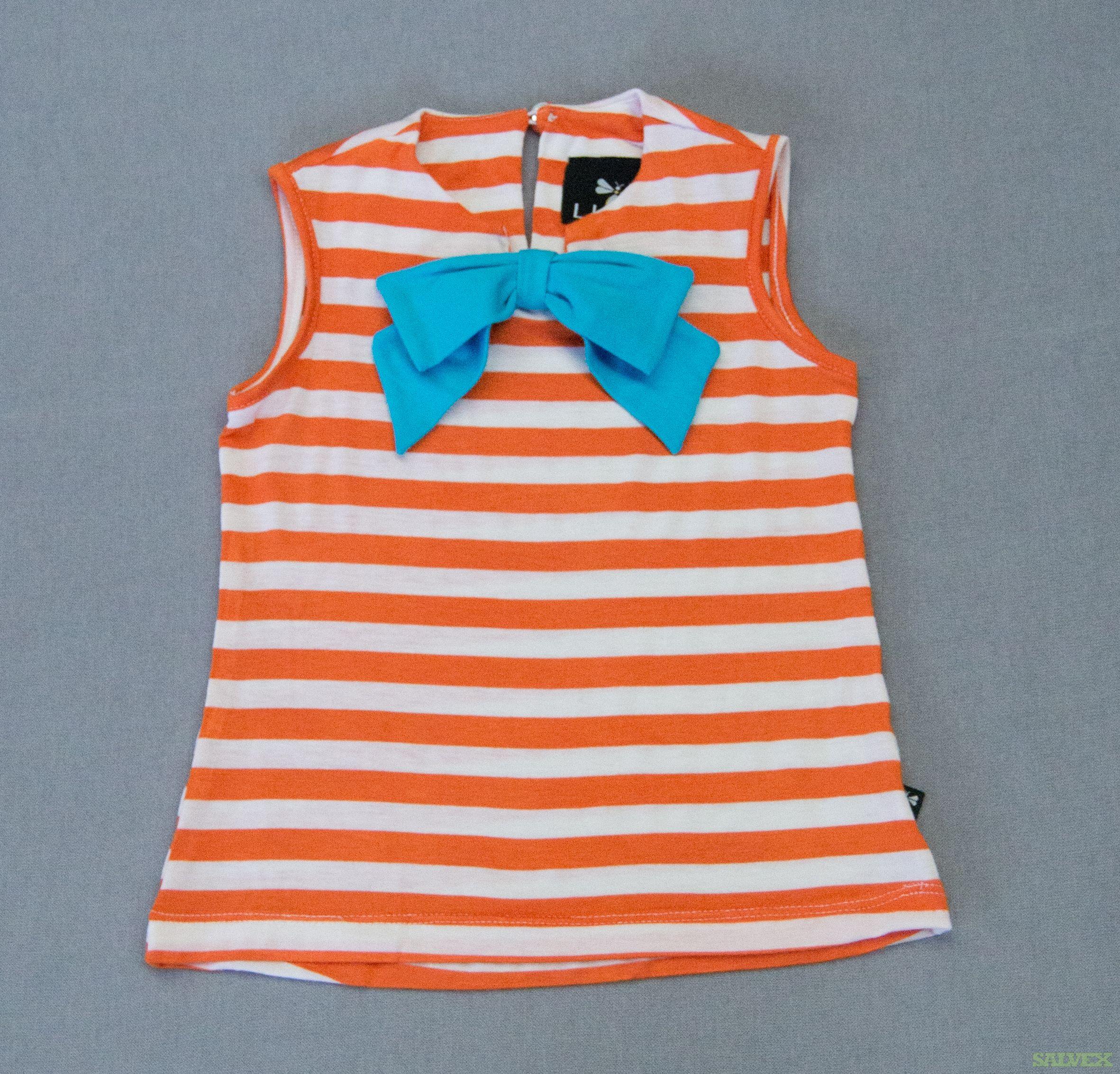 Brand New Striped Toddler-Girls Shirts (N=155, sz 2T-12) in Pennsylvania (155 / Units)