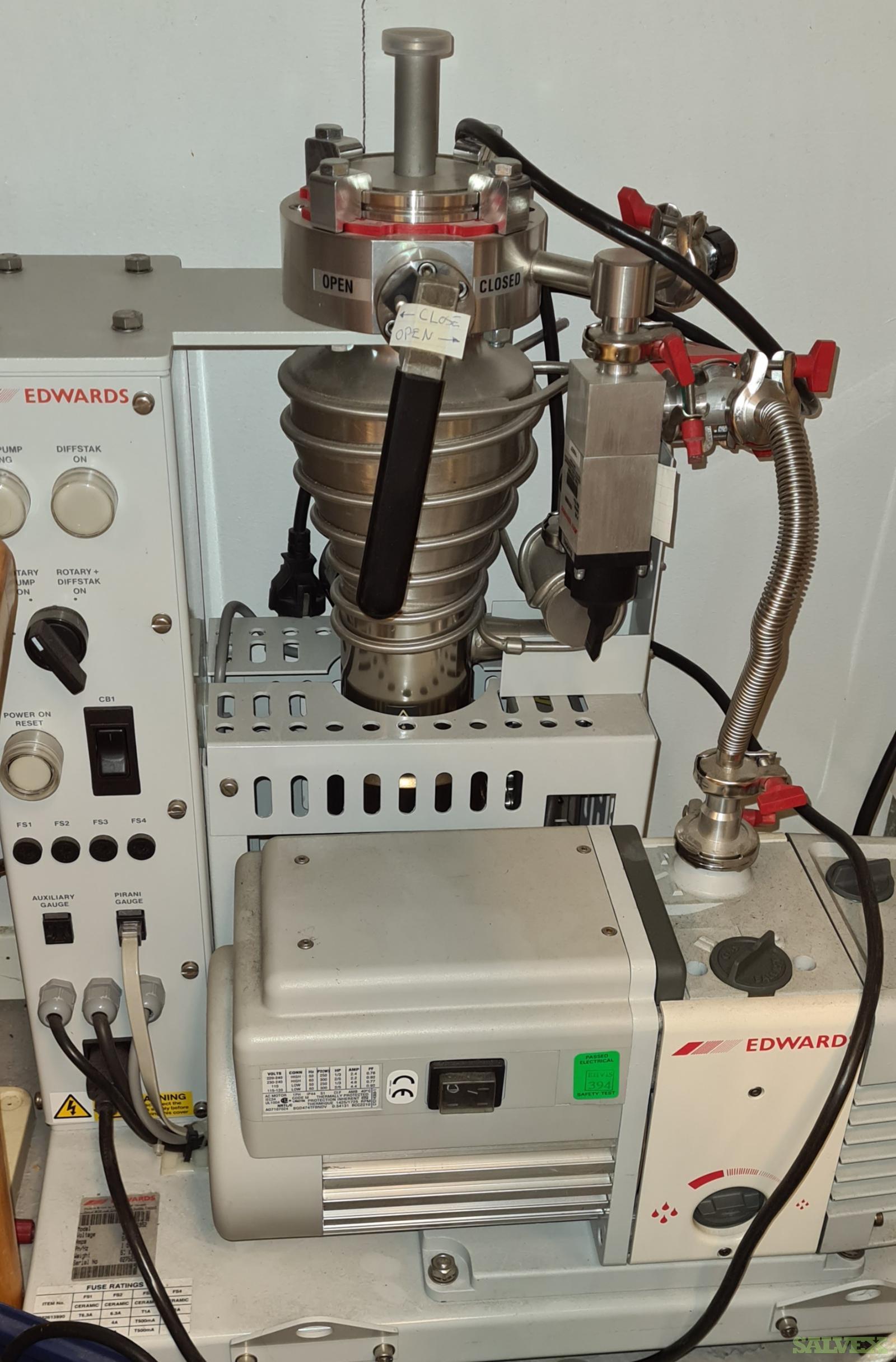 Lab Equipment: Magnetic Stirrer, Cryo Flasks, Pharmacia Column, Bottles, Phase Separators, and More (347 Items)