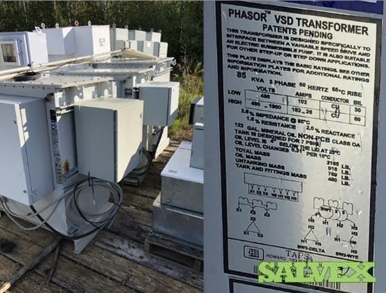 Phasor VSD Transformes (3 Units)