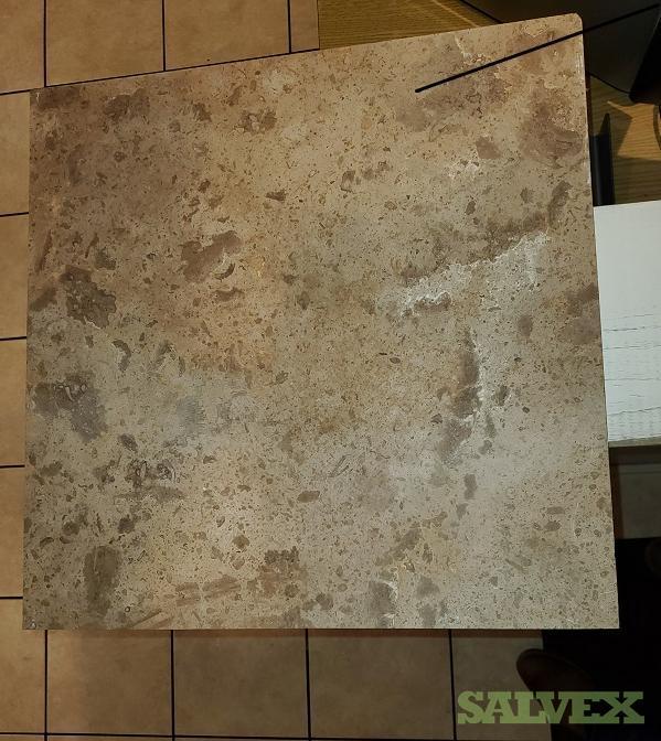 Travertine Stone Tile  18 X 18 X 1/2 Reddish/Beige - (Estimated 8,775 SQFT)