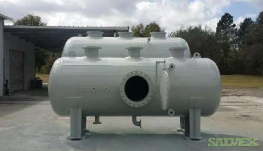Knock Out Drums - Gas and Liquid Separation (2 Units: 17.5 ft, 12.5 ft)