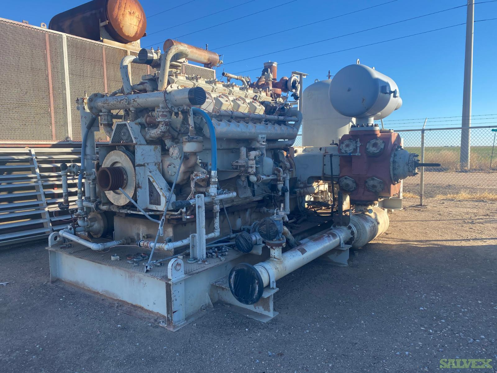 Waukesha Compressor Skids C-YRH-221 (Junk)