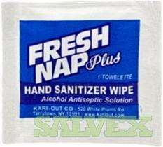 Fresh Nap Plus Sanitizer Wipes 80% Alcohol (3,300 cases - 20 pallets)
